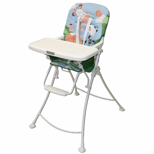 Custom made giraffe high chair coolest high chair for Personalized kids soft chairs